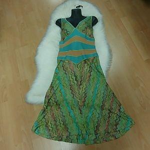 Missoni V Neck Midi Dress